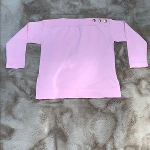 Girls Light Pink Sweater